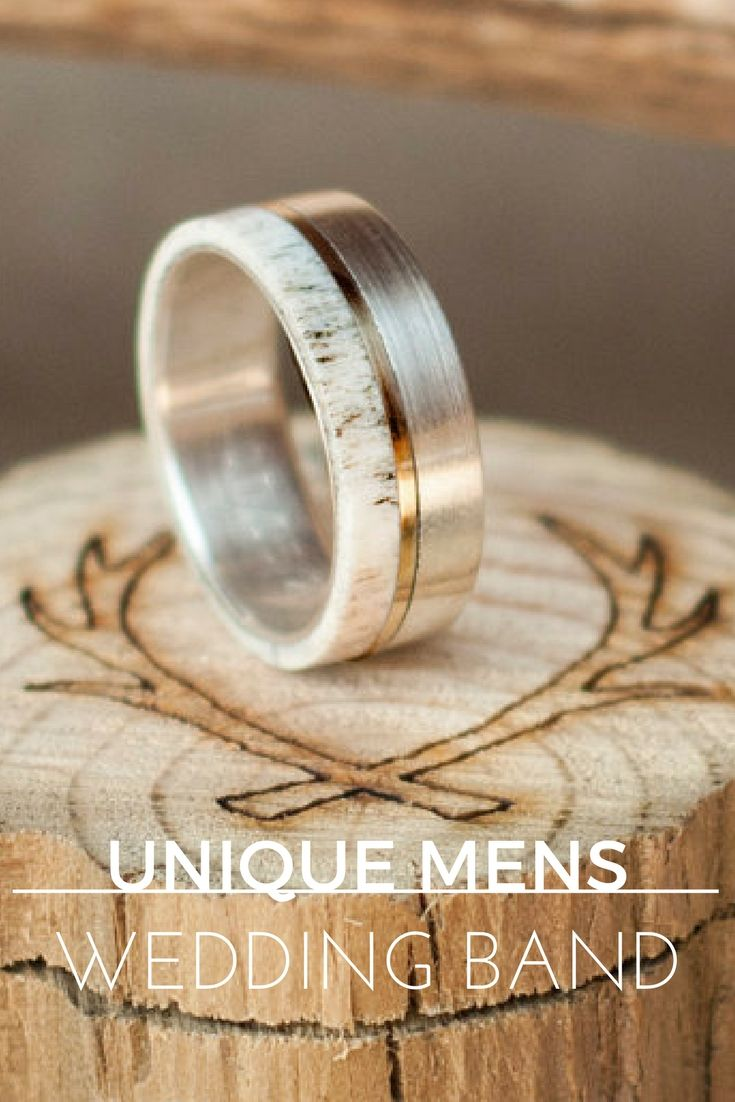men wedding rings safety wedding rings Huge Guide to Unique Mens Wedding Bands 35 Styles