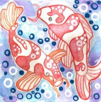 25+ best ideas about Koi painting on Pinterest | Koi carp ...