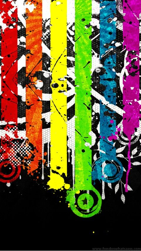 Iphone 7 Fish Wallpaper Hd Fondo Whatsapp Urban Colorfull Fondos Whatsapp