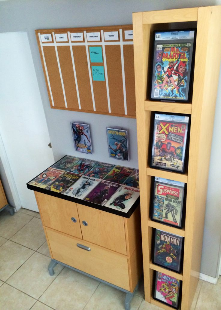 17 Best Images About Comic Book Display On Pinterest