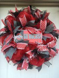 25+ best ideas about Ohio state wreath on Pinterest | Ohio ...
