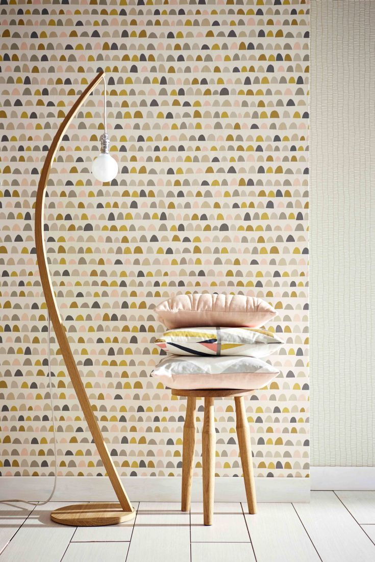 kitchen wallpaper kitchen wallpaper designs Scandi inspired loose stripe effect wallpaper design from the new collection by Scion