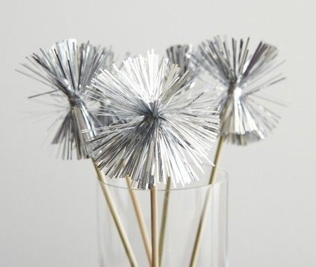 Tinsel Swizzle Sticks | Photo Gallery: Oscar Night Entertaining | House & Home