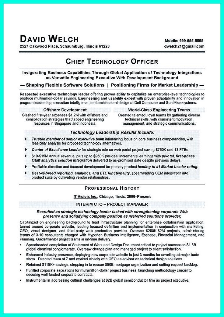 cto resume sample node2001-cvresumepaasprovider
