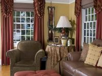 How to Design the French Country Living Room with red ...