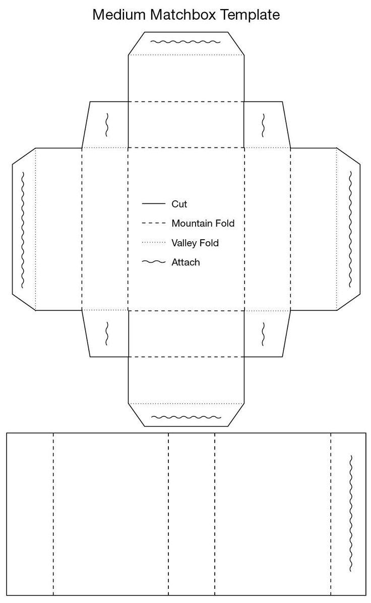 Matchbook Foldable Template - Costumepartyrun