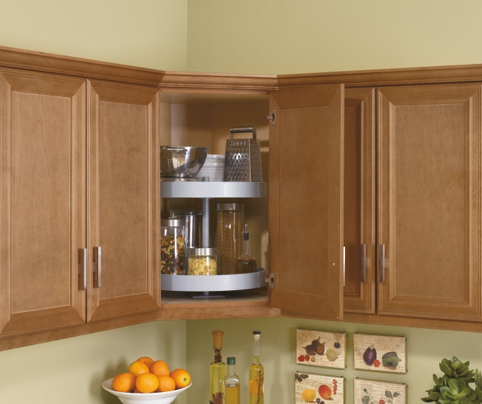 Corner Wall Cabinet Lazy Susan Woodworking Projects Plans