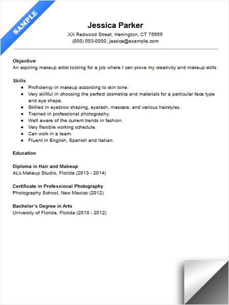 basic format for resumes