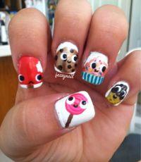 Best 25+ Kid nail designs ideas on Pinterest | Nail ...