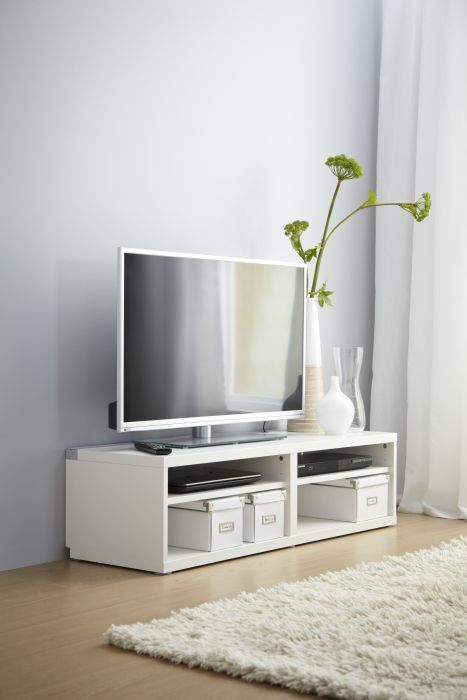 Lowboard Skandinavisch A White BestÅ Tv Bench Gives Any Living Room A Classic
