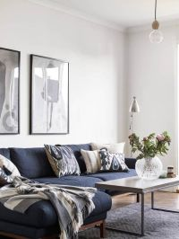 25+ best Blue couches ideas on Pinterest | Navy couch ...