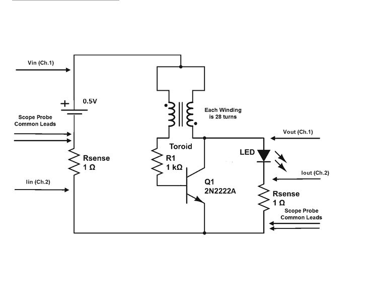 re is joule thief circuit gets overunity