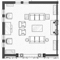 Designing A Room Layout. Gallery Of Twoperson Office ...