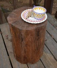 1000+ images about wood stumps on Pinterest   Chairs ...