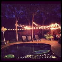 backyard party lights. | Outdoor/exterior ideas ...