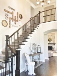 Best 25+ Stairway Wall Decorating ideas on Pinterest ...
