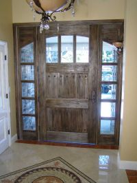 Best 25+ Rustic front doors ideas on Pinterest | Entry ...
