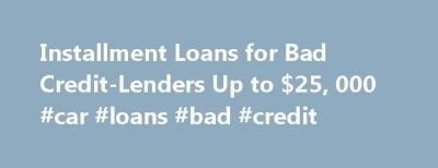 Best 25+ Loans for bad credit ideas on Pinterest