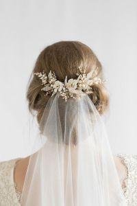 25+ best ideas about Wedding hairstyles veil on Pinterest ...