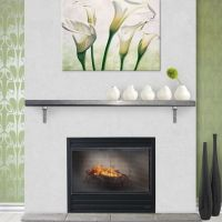 1000+ images about Fireplace Mantels on Pinterest   Stove ...