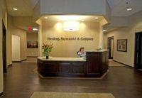 Harding, Shymanski & Company office reception area ...