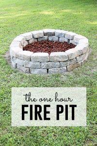 25+ best ideas about Easy Fire Pit on Pinterest | Fire ...