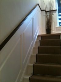 17 Best images about Waynescoting on Pinterest | Staircase ...