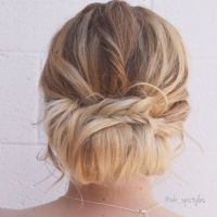 Loose Chignon Wedding Hairstyles