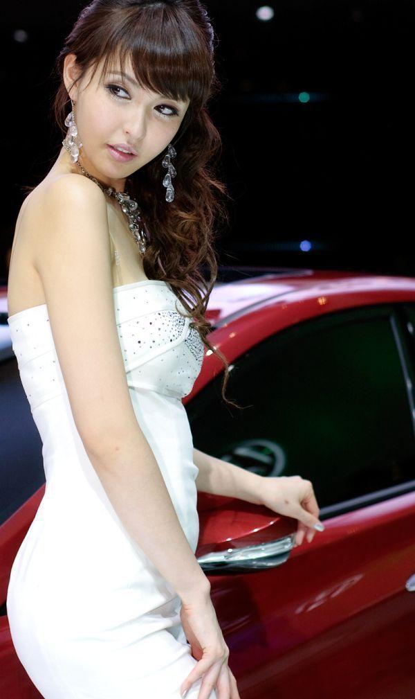 Cars Wallpaper For Google Kang Yoo Lee Kang Yui Beautiful Korean Race Queen A