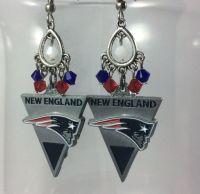 NEW ENGLAND PATRIOTS Earrings - Patriots Fan Gift ...