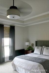 Crazy Wonderful: DIY drum shade ceiling fan   c r a z y w ...
