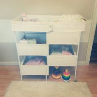 vintage baby changing tables | ... changing table and ...
