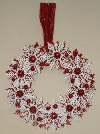 25+ Best Ideas about Snowflake Wreath on Pinterest | Diy ...