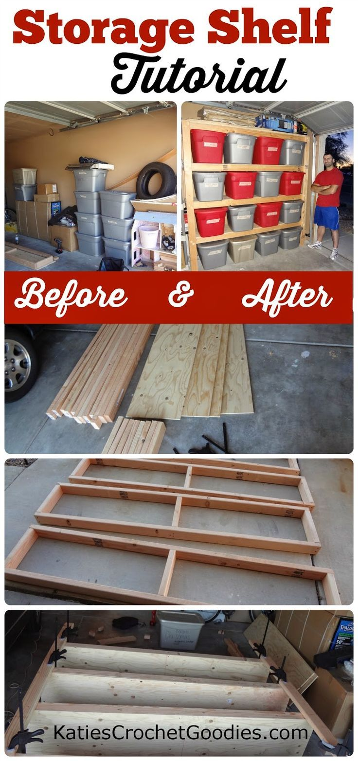 1000 Ideas About Diy Garage Shelves On Pinterest Auto Electrical Wiring Diagram