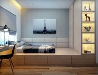 25+ best ideas about Platform bed storage on Pinterest ...