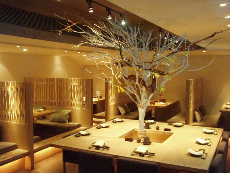 Decorating, Fascinating Japanese Restaurant Modern Design