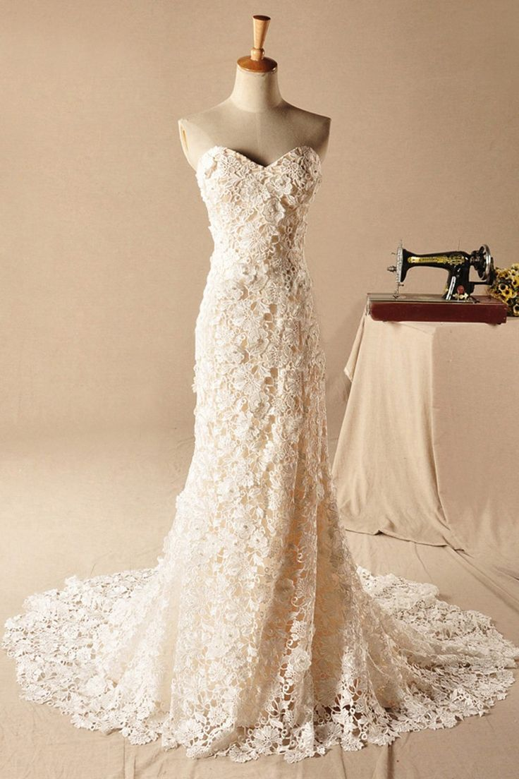 vintage lace weddings vintage inspired wedding dress 25 Best Ideas about Vintage Lace Weddings on Pinterest Vintage wedding dresses Lace sleeve dresses and Next dresses