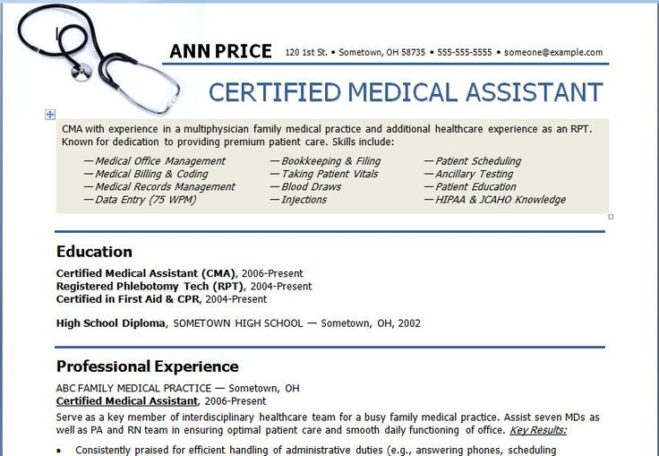 student entry level medical assistant resume template resume medical assistant student resume