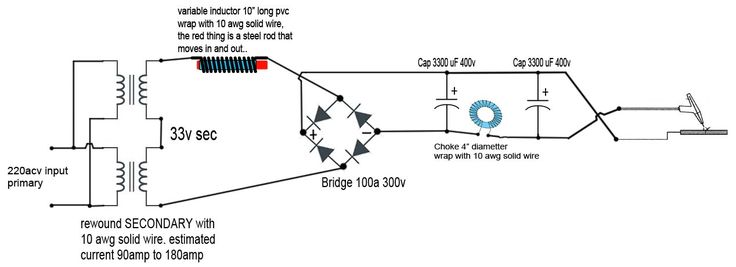 tig welder schematic diagram