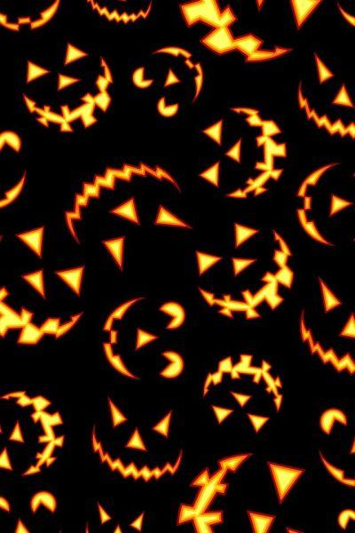 Jack O Lantern wallpaper for phone   Halloween Cell Phone Wallpaper   Pinterest   Halloween ...