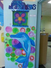 KG Class Door Decoration idea DOLPHIN CLASS | BAA KG ...