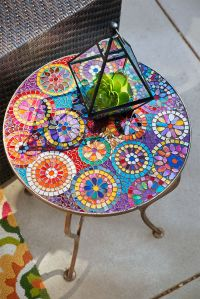 25+ best ideas about Mosaic Table Tops on Pinterest