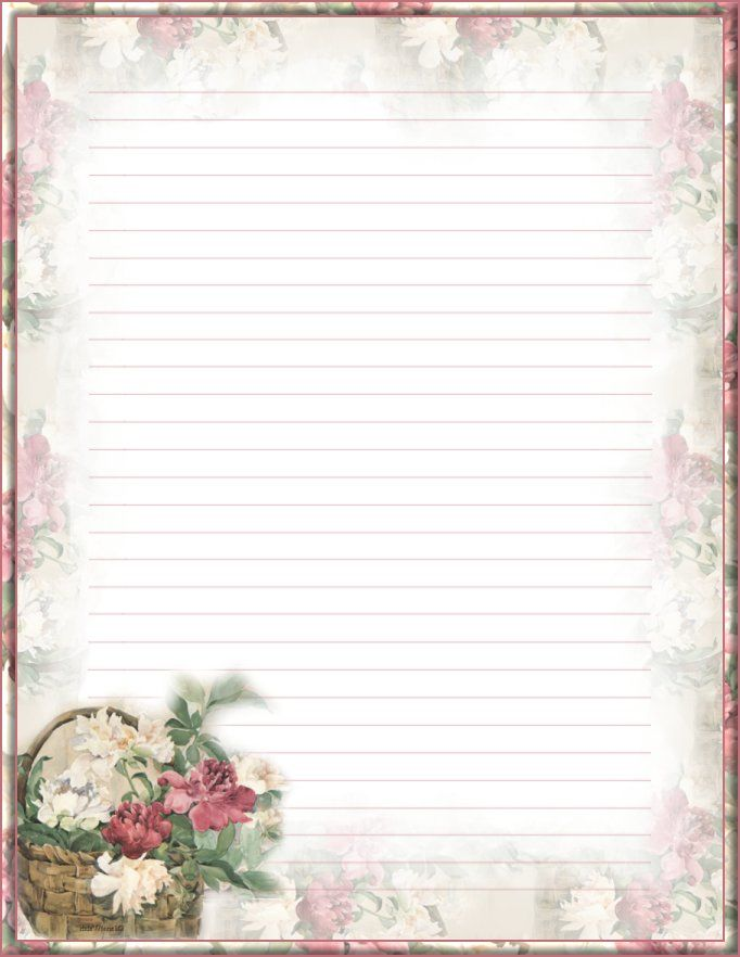 Doc#650850 Lined Stationery Paper u2013 Free Printable Stationery - free printable lined stationary