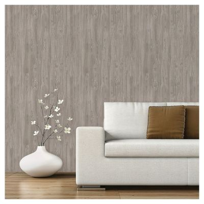 Devine Color Textured Driftwood Peel & Stick Wallpaper - Mirage   Sticks, Wallpapers and Grey