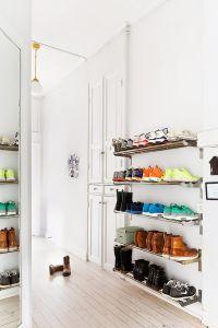 25+ best ideas about Wall mounted shoe rack on Pinterest ...