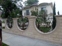 sheet metal fence designs | Block Wall, Fence | Pinterest ...