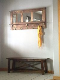 1000+ ideas about Rustic Coat Rack on Pinterest | Rustic ...