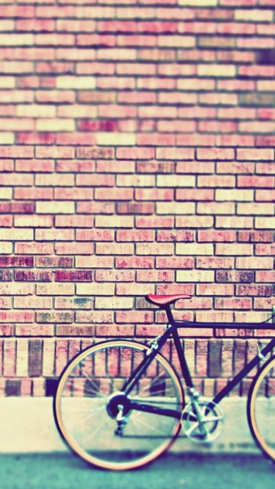 Vintage Bike #iPhoneWallpaper | iPhone Wallpapers | Pinterest | Fixie, Bicycles and Vintage bikes