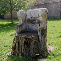 9 Best images about tree stump chairs on Pinterest ...
