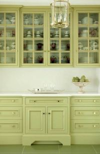 Green Kitchen Cabinet Paint Colors : Perfect Kitchen ...